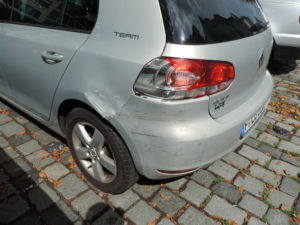 Golf 5 Heck demolierung