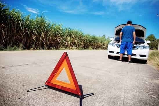 Unfall szene Schadensgutachten